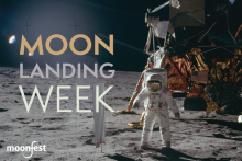 moon landing week at flandrau