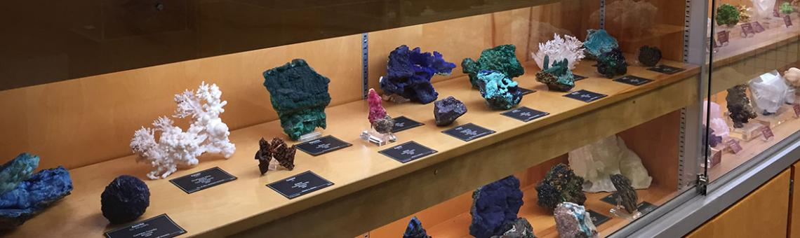 A picture of minerals, gems, and fossils