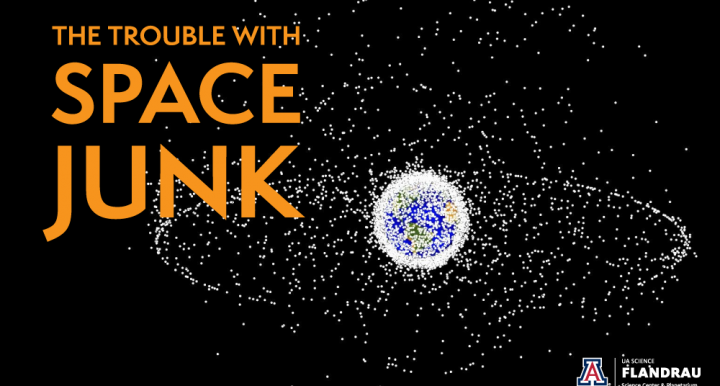 the trouble with space junk